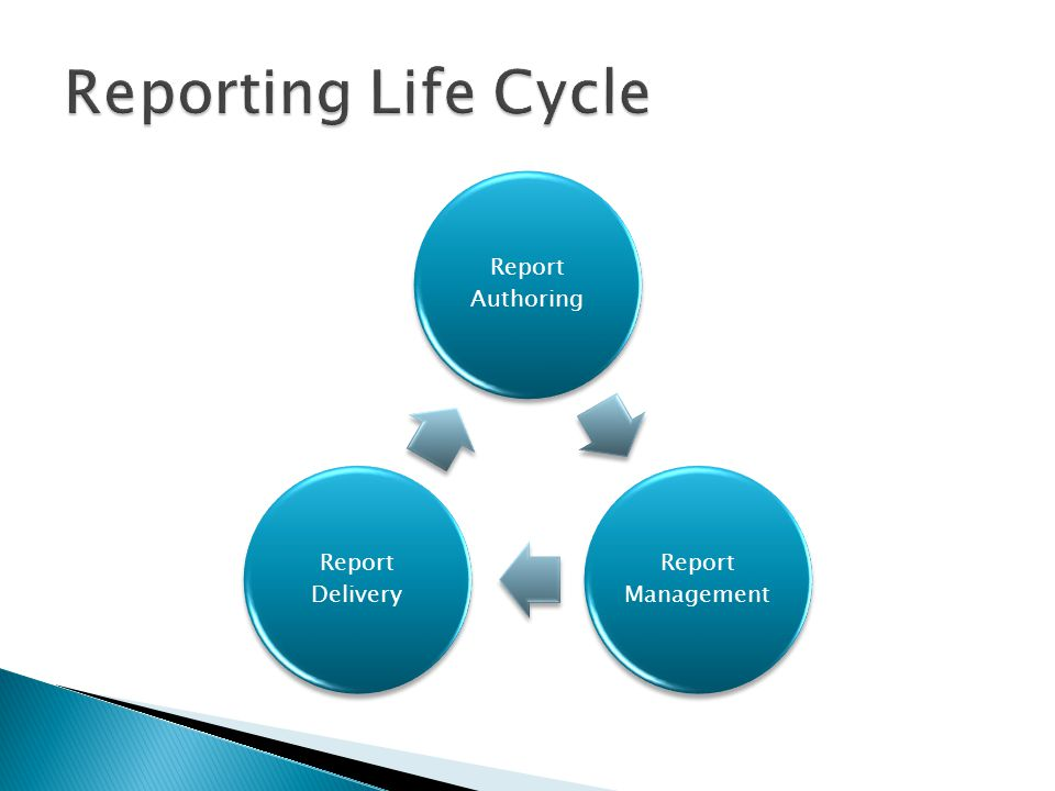 Report Authoring Report Management Report Delivery