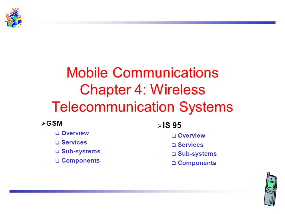 Winter 2001ICS 243E - Ch4. Wireless Telecomm. Sys. 4.2 Mobile phone subscribers worldwide