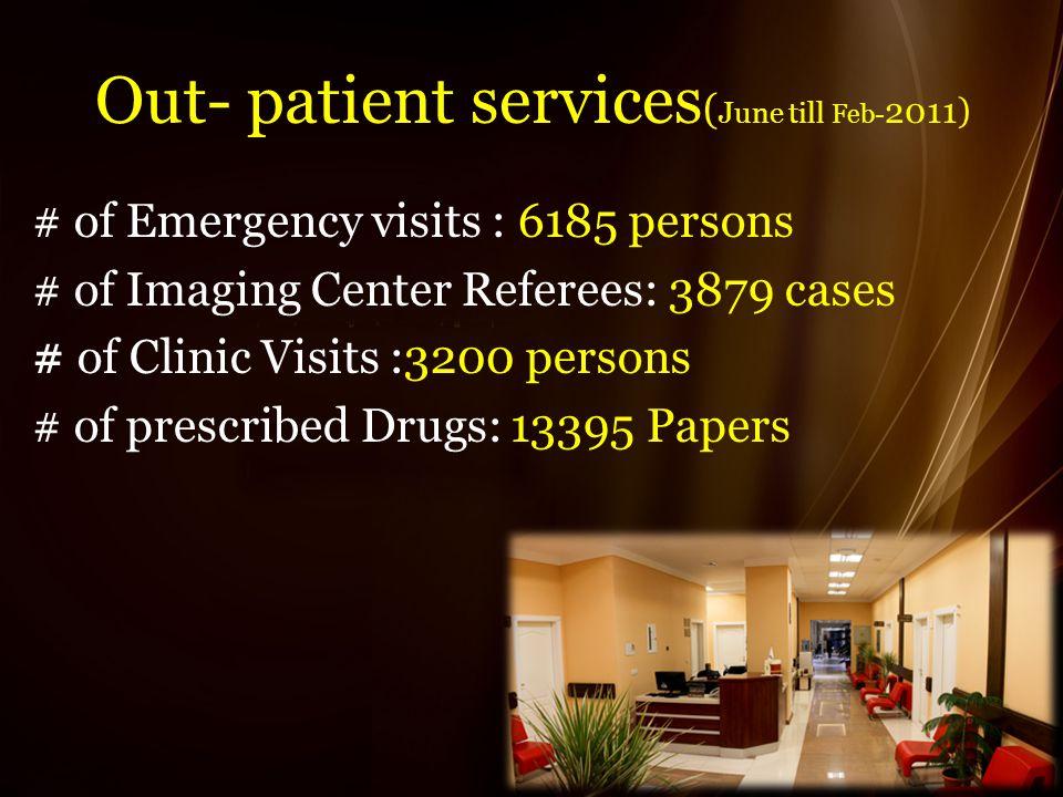 In-Patient wards
