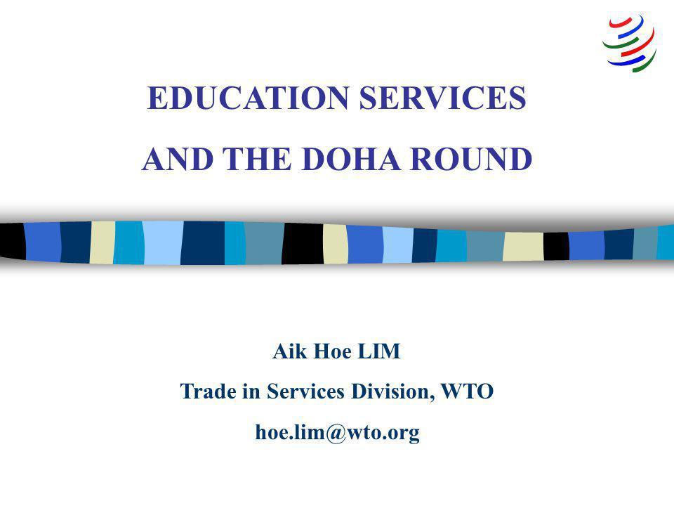 © Trade Services Division, WTO, Nov 2005