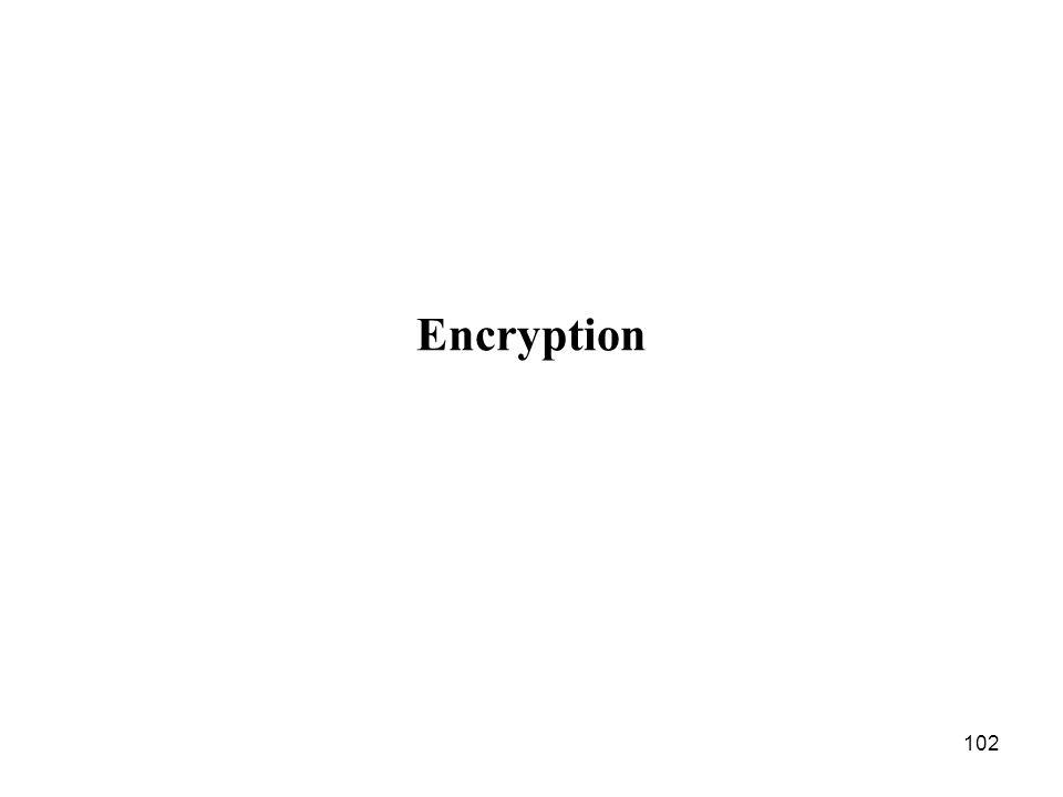 102 Encryption