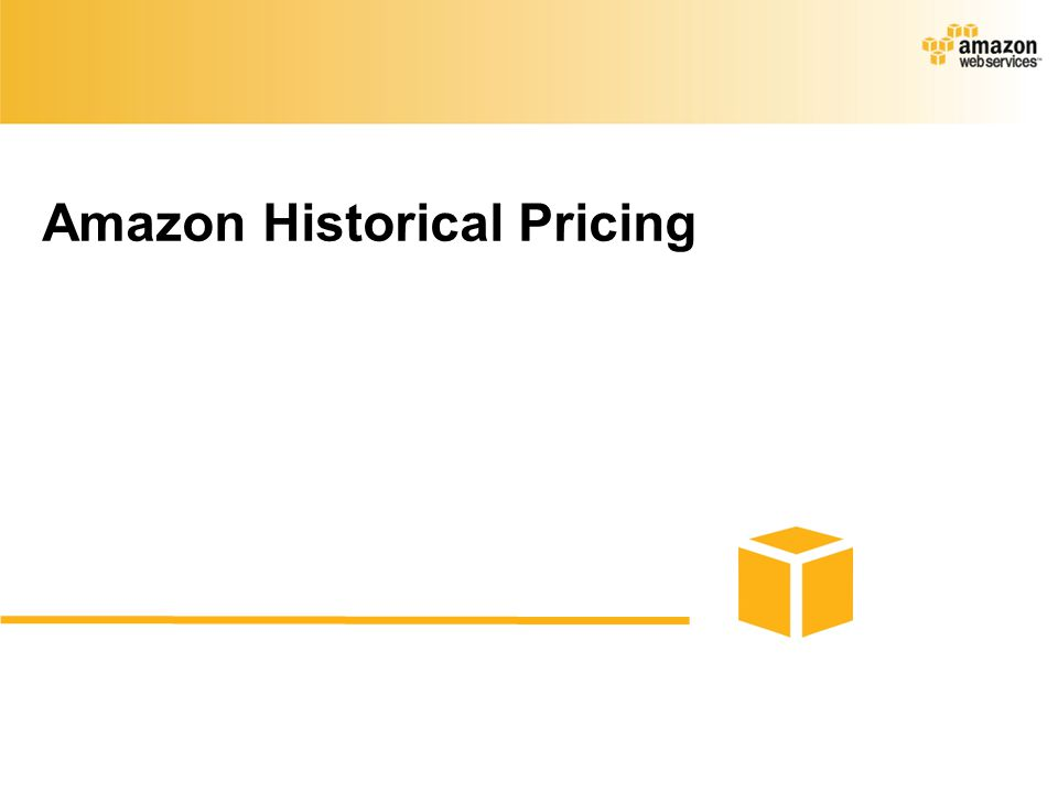 Amazon Historical Pricing