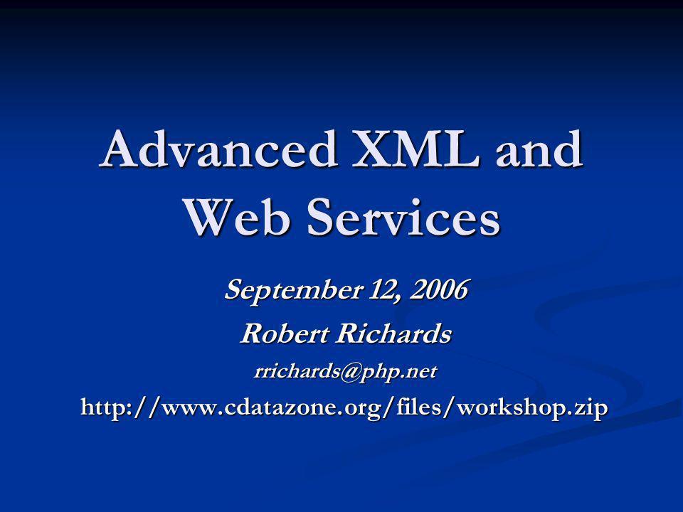 XMLReader: DTD Validation xmlreader/validation/reader.xml <!DOCTYPE chapter [ ]><chapter> XMLReader XMLReader First Paragraph First Paragraph About this Document About this Document content content </chapter>