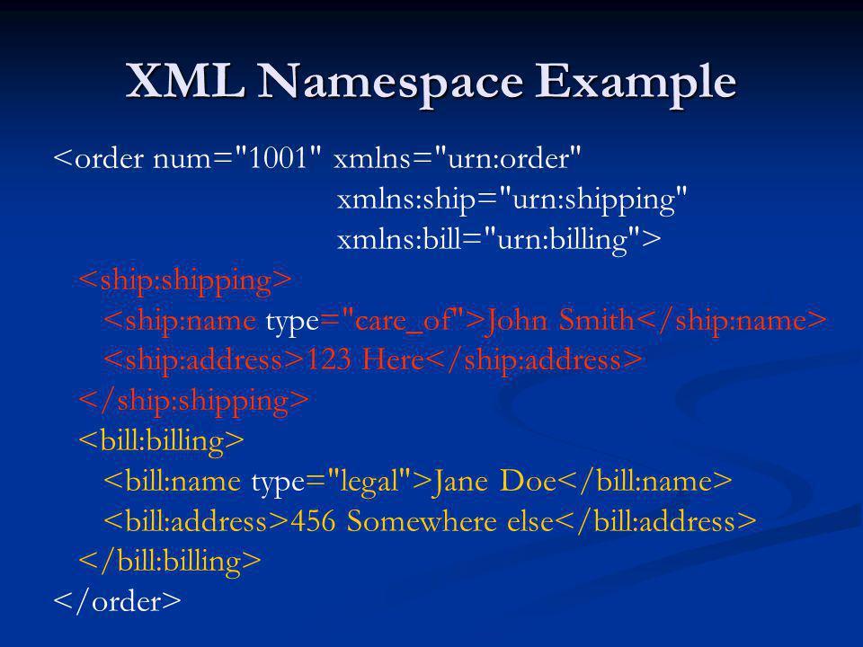 SimpleXML: Xpath simplexml/simplexml-xpathns.php $sxe = simplexml_load_file( simplexml-xpathns.xml ); $nodelist = $sxe->xpath( //bk:name ); print Last Book Title: .$nodelist[count($nodelist) - 1]. \n ; $sxe->registerXPathNamespace( rt , http://www.example.com/store ); $nodelist = $sxe->xpath( //bk:name[ancestor::rt:rare] ); print Last Rare Book Title: .$nodelist[count($nodelist) - 1]. \n ; $sxe->registerXPathNamespace( ext , http://www.example.com/ExteralClassics ); $nodelist = $sxe->xpath( (//bk:name)   (//ext:name) ); print Last Book Title: .$nodelist[count($nodelist) - 1]. \n ; $sxe->registerXPathNamespace( bk2 , http://www.example.com/classicbook ); $nodelist = $sxe->xpath( //bk2:name ); print Last Book Title (bk2): .$nodelist[count($nodelist) - 1]. \n ;