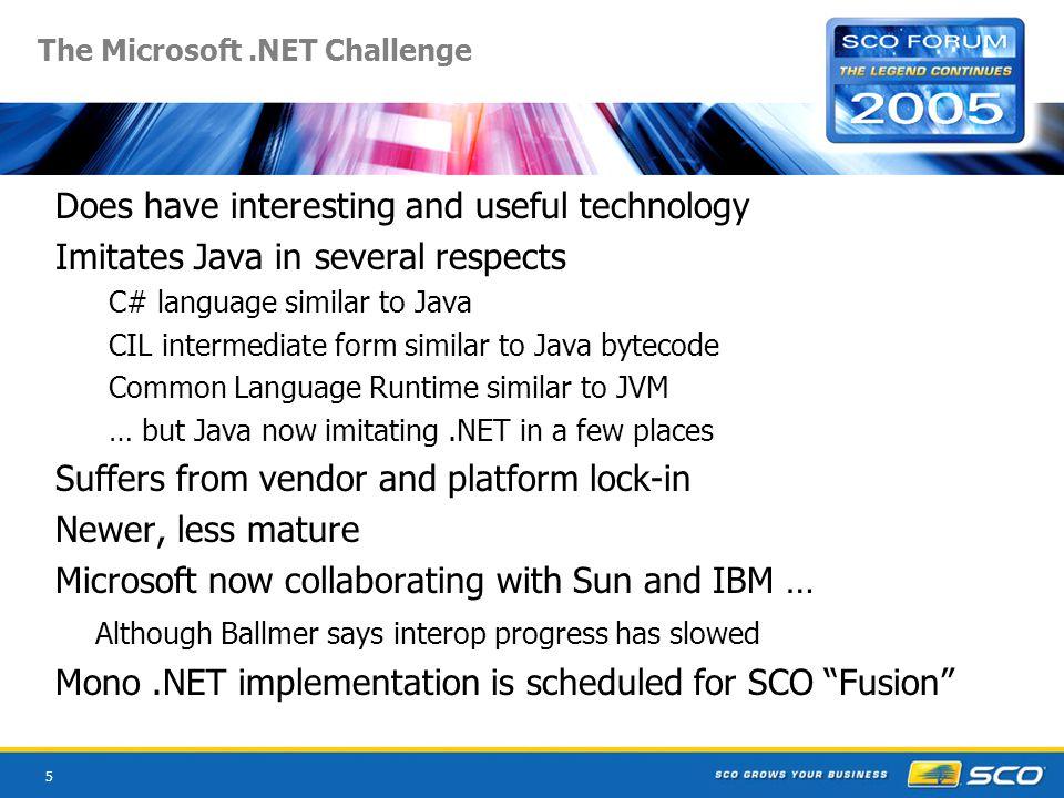 36 SCOx Web Services Language Support