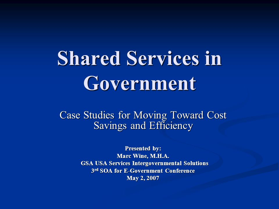 Department of Housing and Urban Development (HUD) HUD migrated to a shared services provider for Human Resources instead of spending $15 million to $18 million over a six-year period to build their own comprehensive and automated human resources solution agency-wide.