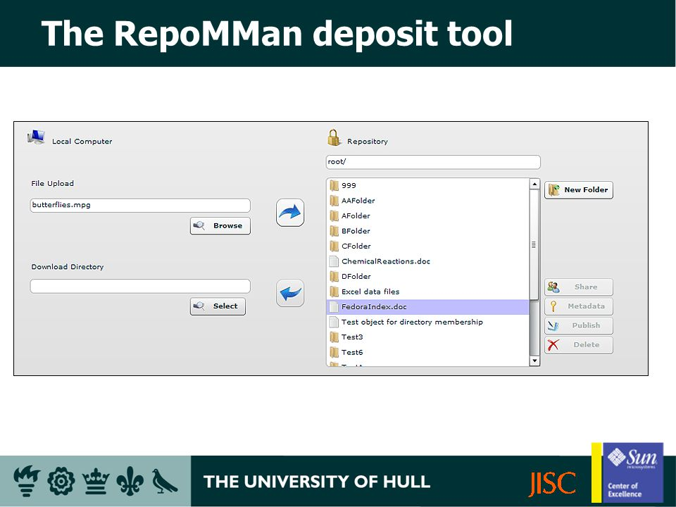 The RepoMMan deposit tool