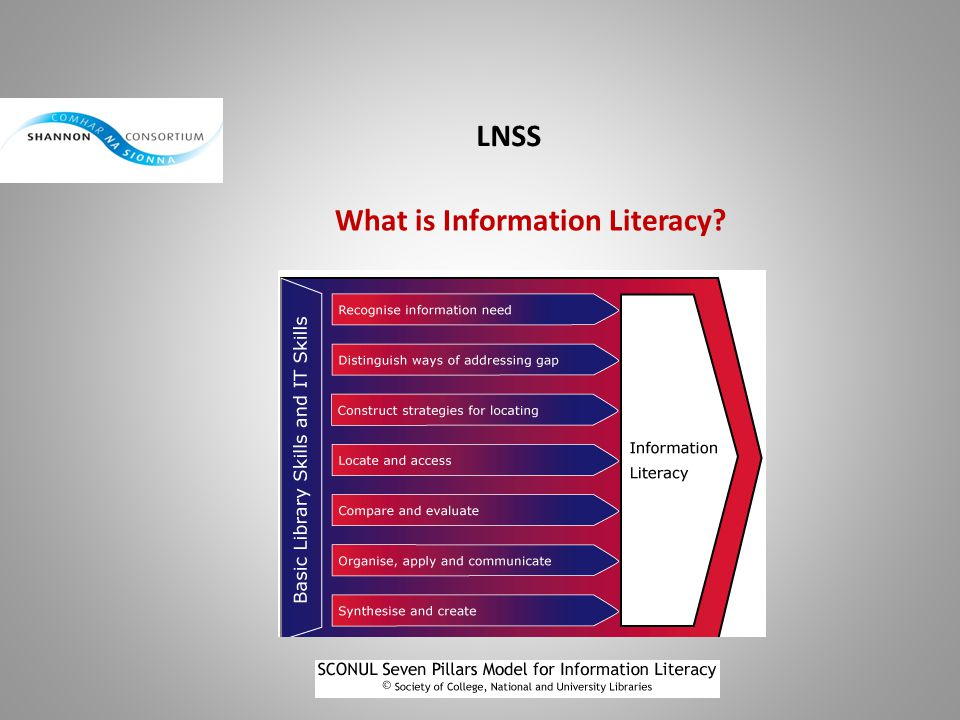 LNSS What is Information Literacy?
