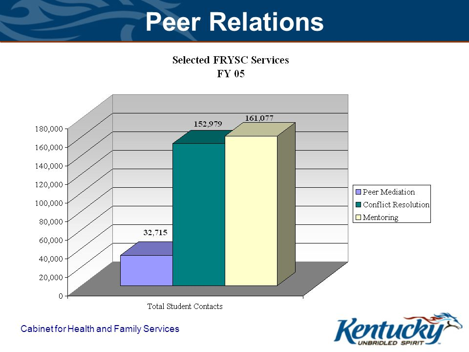 Cabinet for Health and Family Services Peer Relations