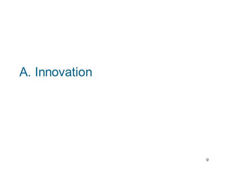 9 A. Innovation
