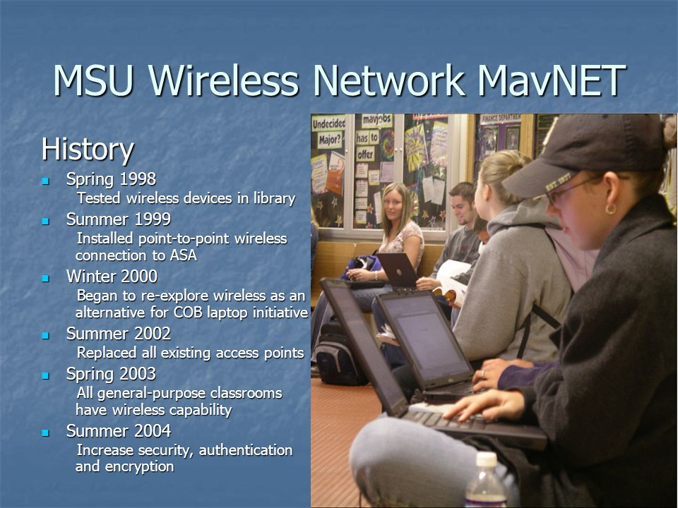 2002 MavNET Wireless Network Upgrade