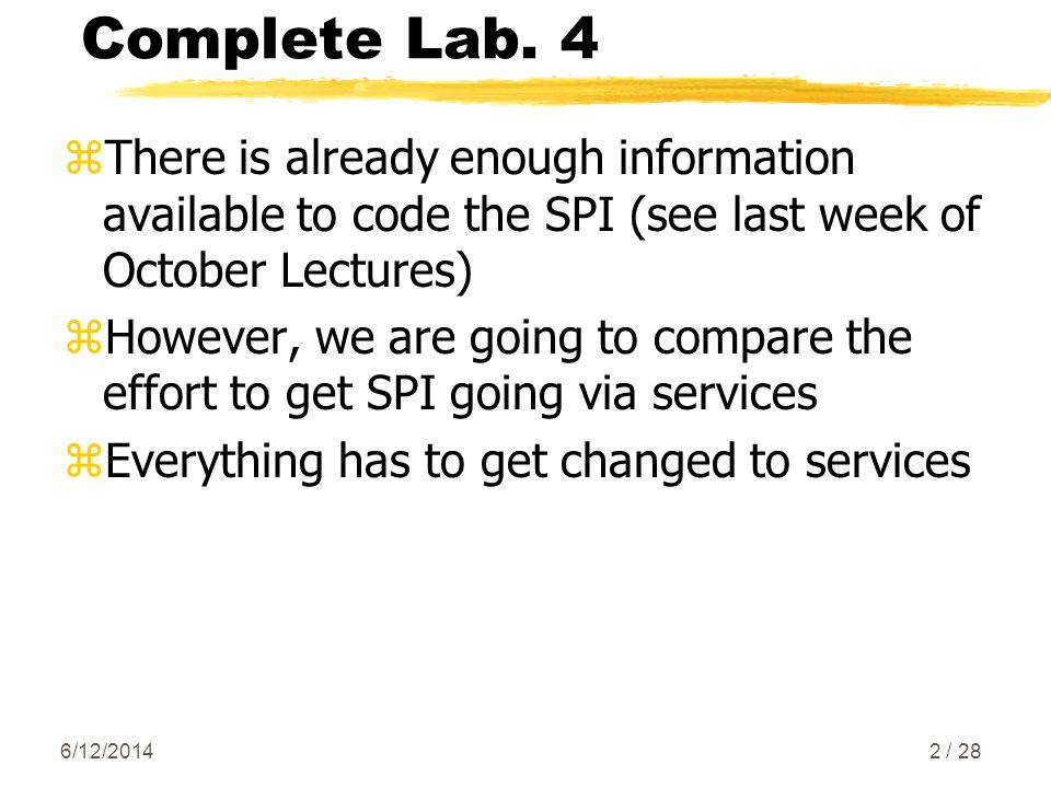 Complete Lab.
