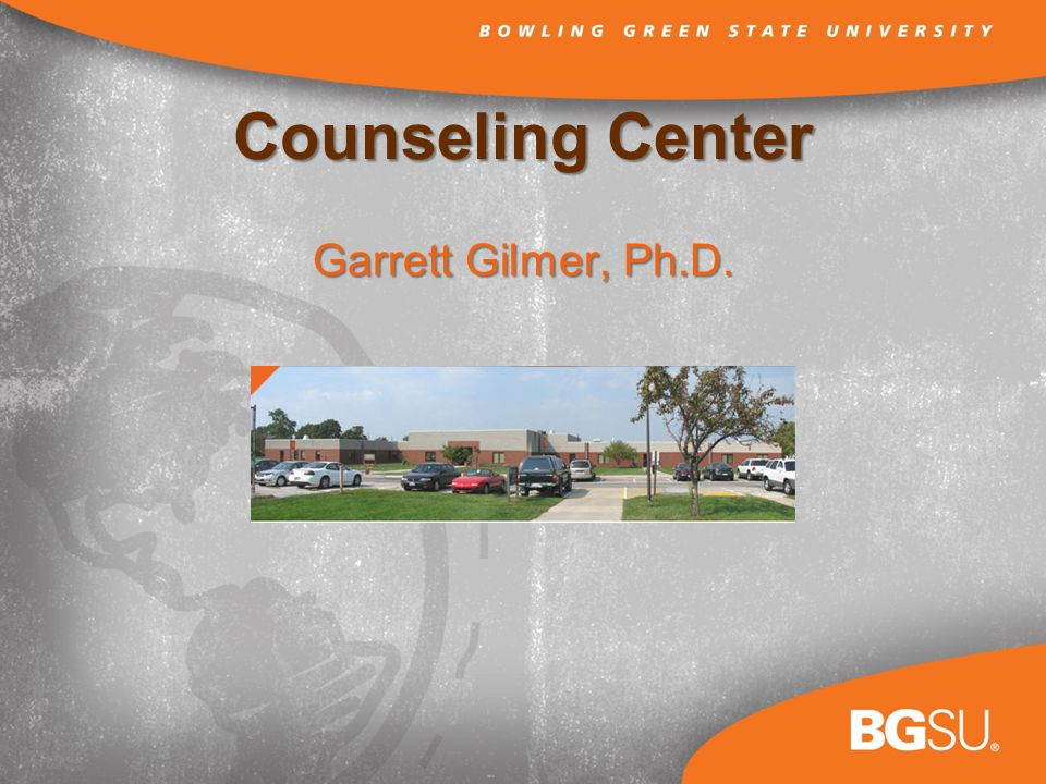 Counseling Center Garrett Gilmer, Ph.D.