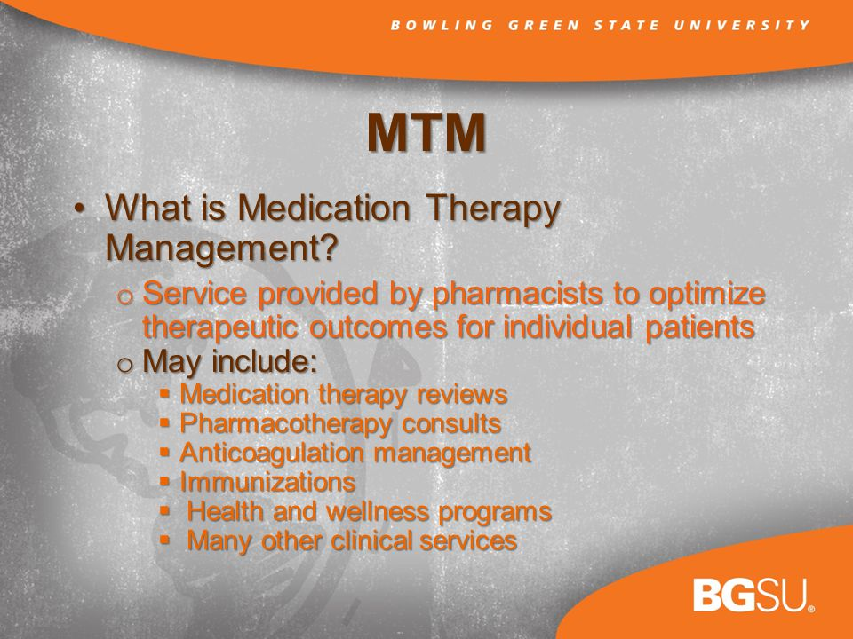 MTM What is Medication Therapy Management What is Medication Therapy Management.