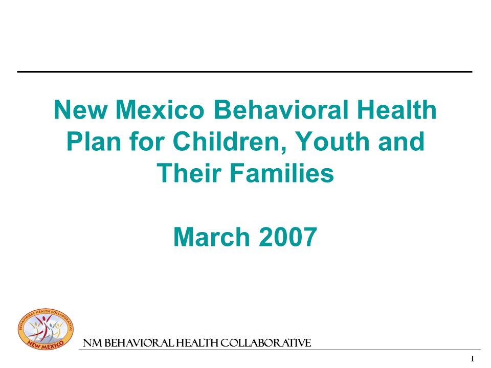 2 NM Behavioral Health Collaborative Looking Back - Moving Forward Proposed Action Steps Drawn From Previous Studies: 2002 Behavioral Health Needs and Gaps in New Mexico 2003 Childrens Behavioral Health Re-Design Committee 2004 New Mexico Interagency Behavioral Health Purchasing Collaborative Concept Paper 2006 Out-of-Home Placement Study