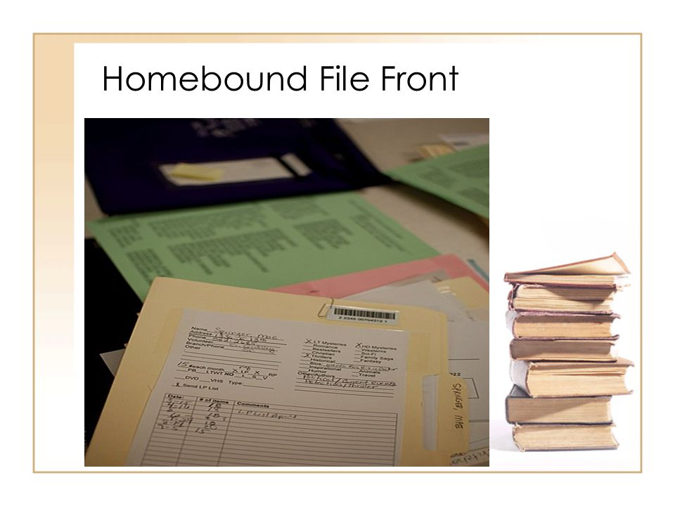 Homebound File Front