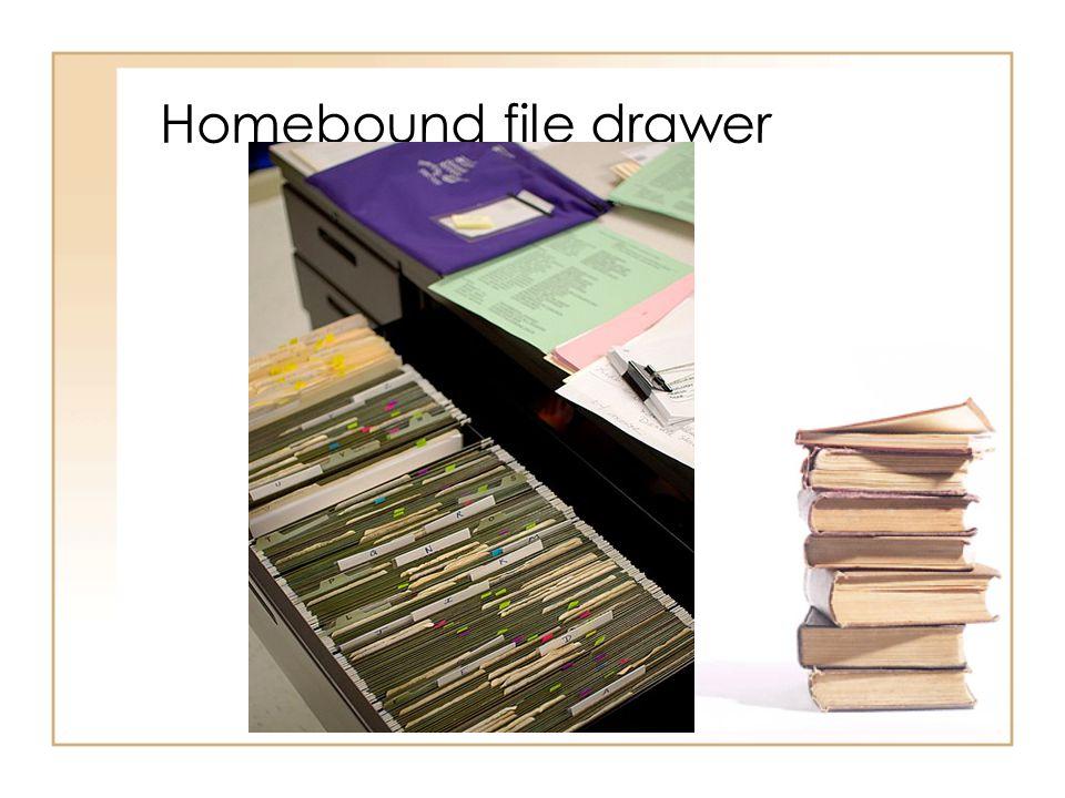 Homebound file drawer