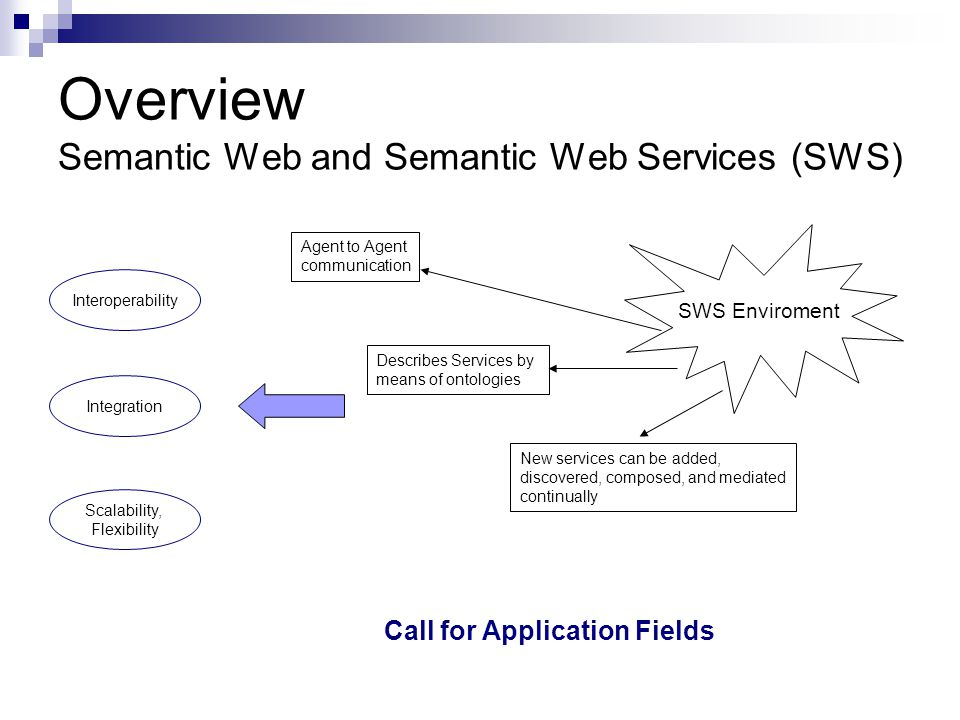 Overview Using SWS in E-Gov application SWS and E-Gov..