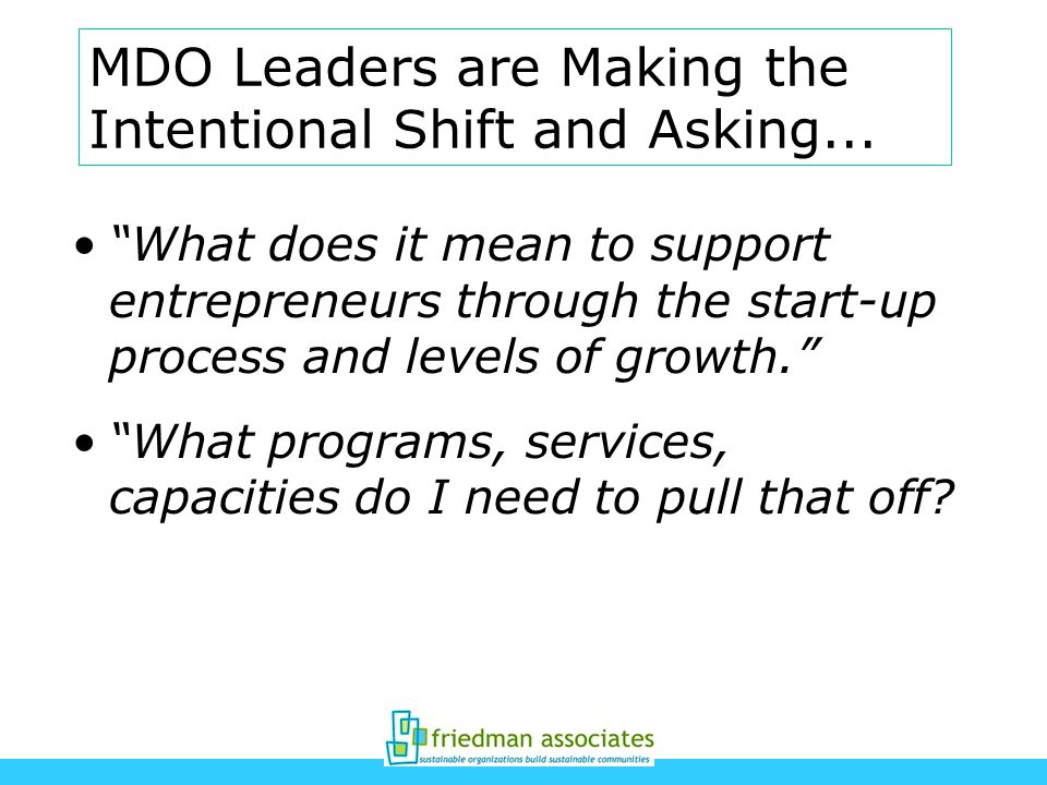MDO Leaders are Making the Intentional Shift and Asking...