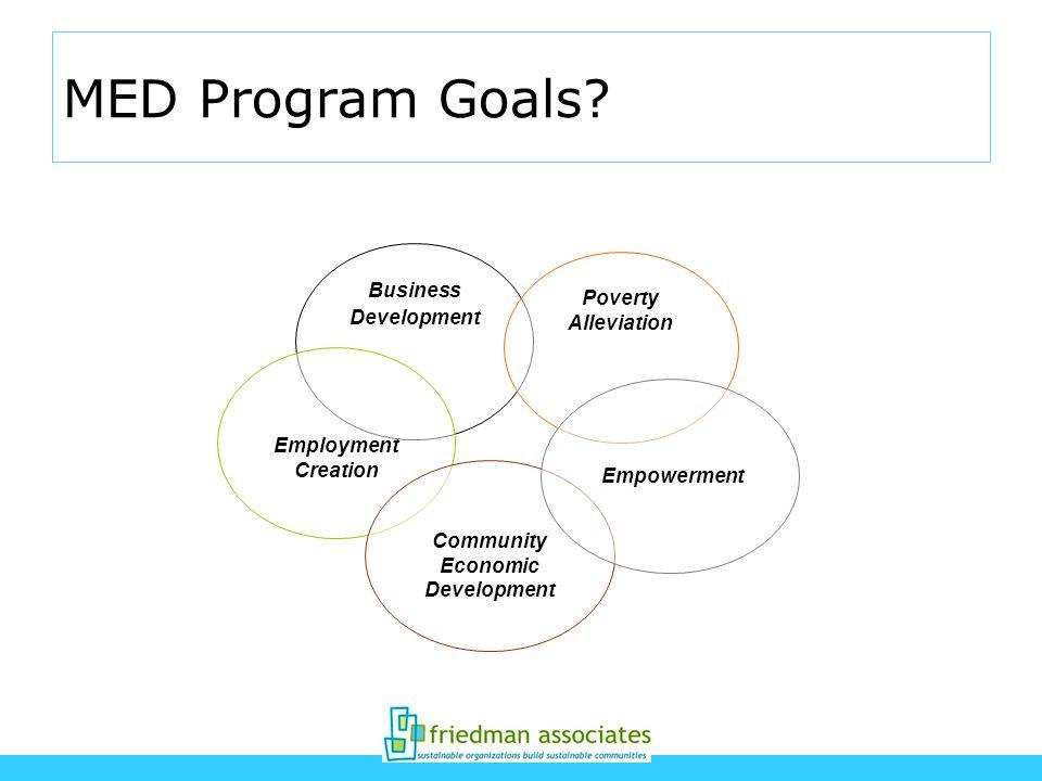MED Program Goals.