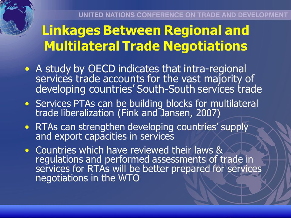 UNCTAD/CD-TFT 9 What is at stake.