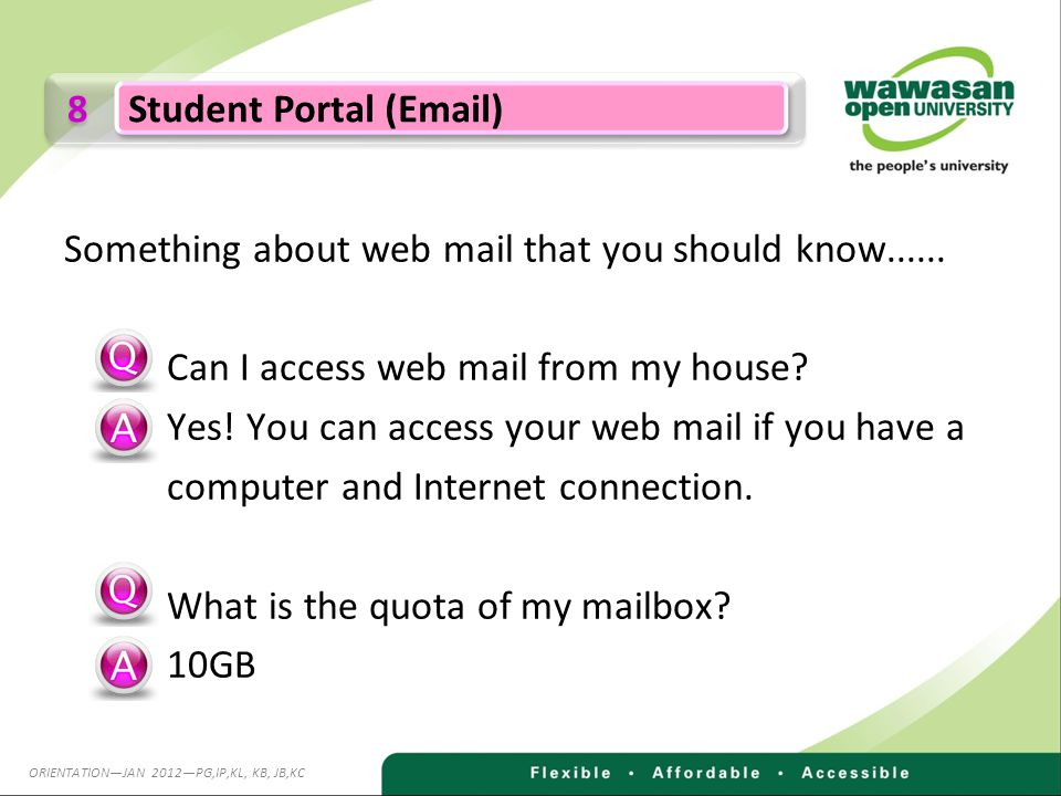 Something about web mail that you should know......