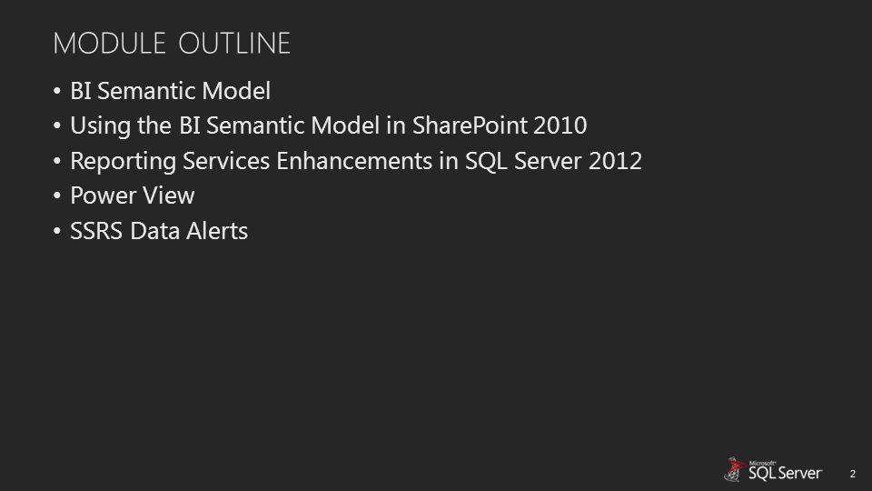 BI SEMANTIC MODEL 3 One Model for All End User Experiences Team BI PowerPivot for SharePoint Personal BI PowerPivot for Excel Corporate BI Analysis Services