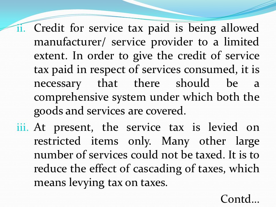 Exemption of Goods and Services Concept of providing threshold exemption of GST Scope of composition and compounding scheme under GST Items of GS to be exempt Treatment for goods exempt under one state and taxable under the other