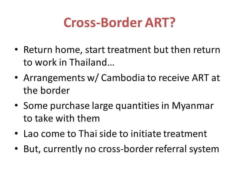 Cross-Border ART.