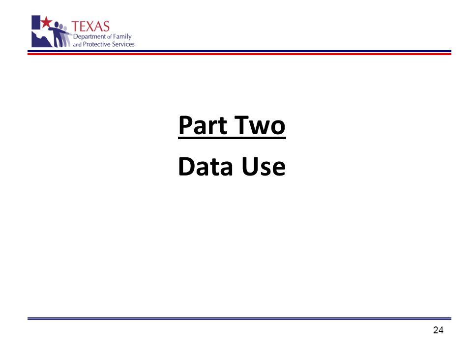 Part Two Data Use 24