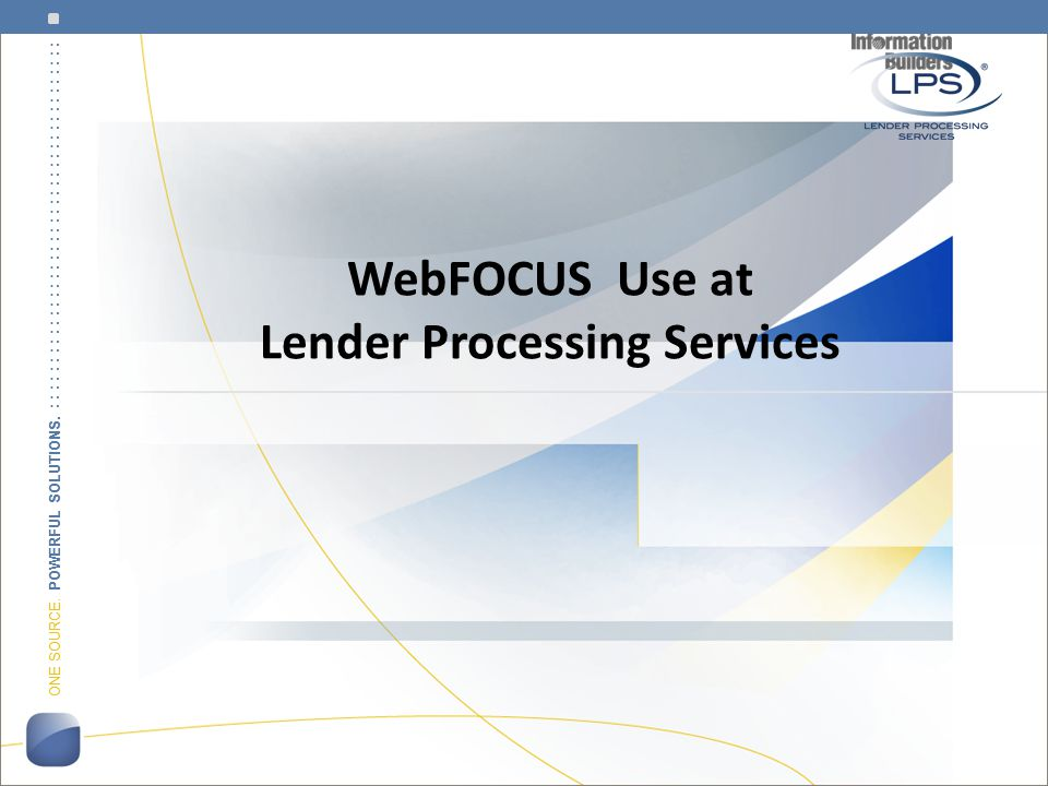 Who is Lender Processing Services.