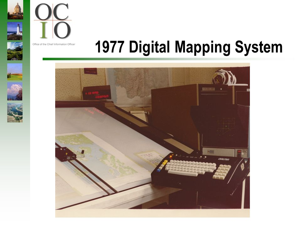 1977 Digital Mapping System