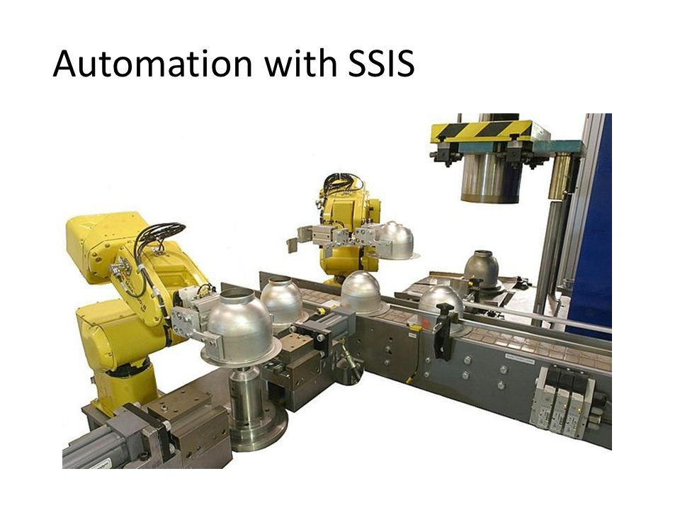 Automation with SSIS
