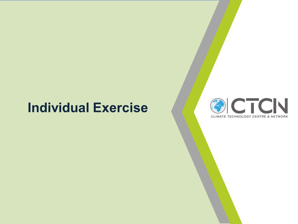 Individual Exercise