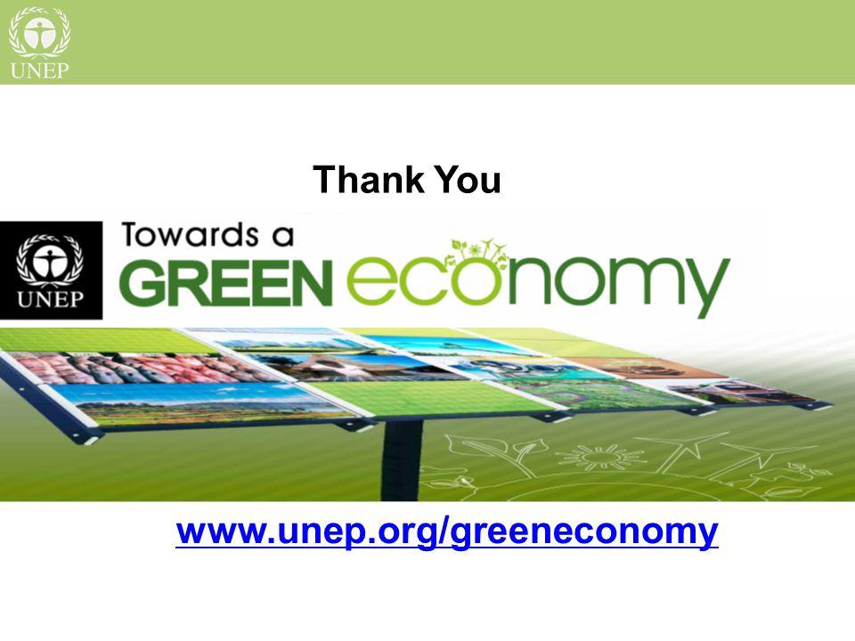 Thank You www.unep.org/greeneconomy