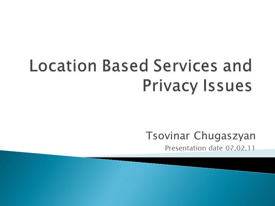 Tsovinar Chugaszyan Presentation date 07.02.11