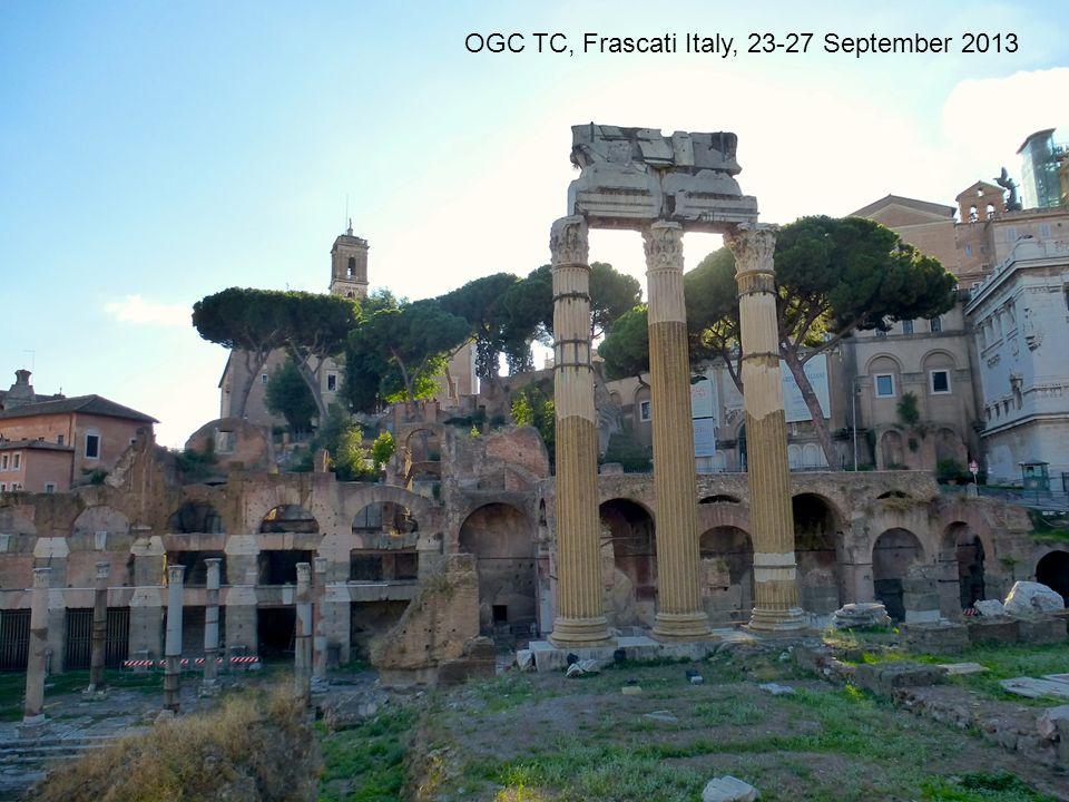OGC TC, Frascati Italy, 23-27 September 2013