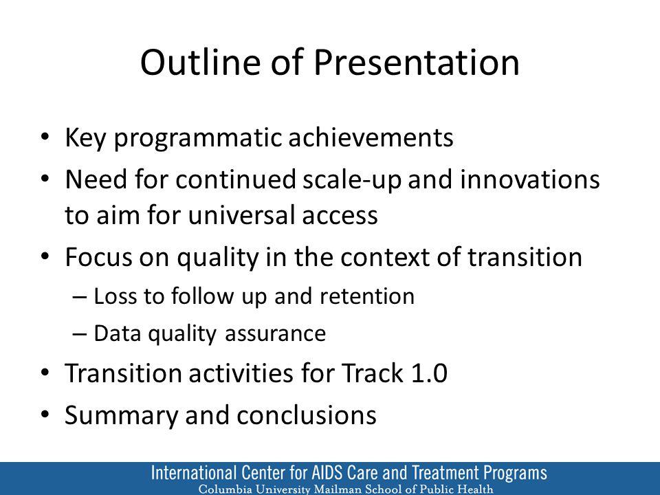 Key Programmatic Achievements