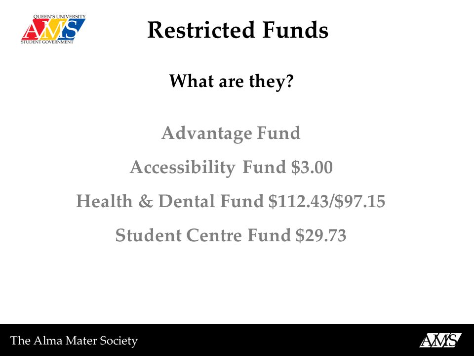 Restricted Funds What are they.