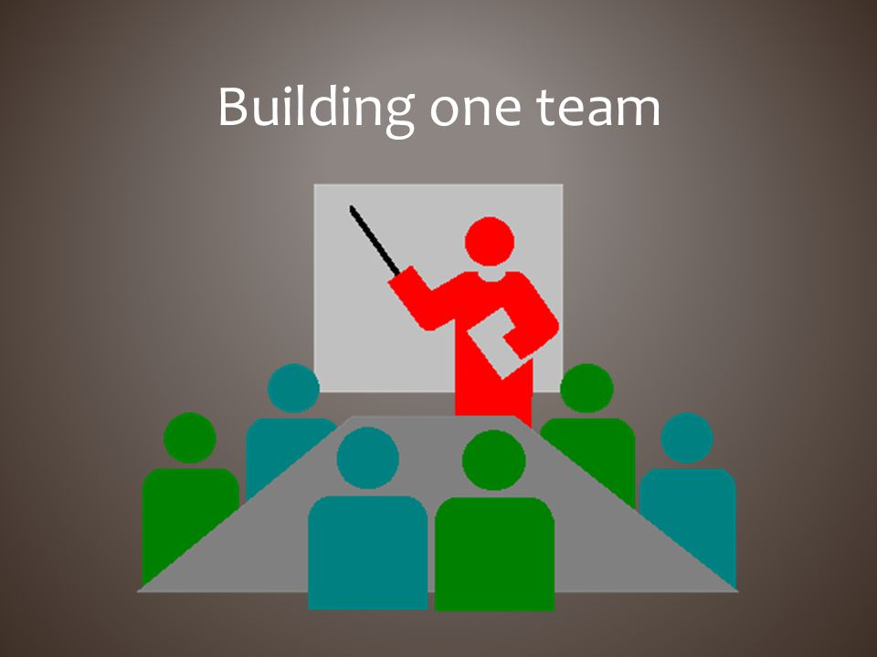 Building one team