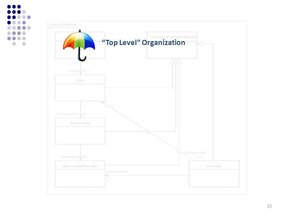 Top Level Organization 15