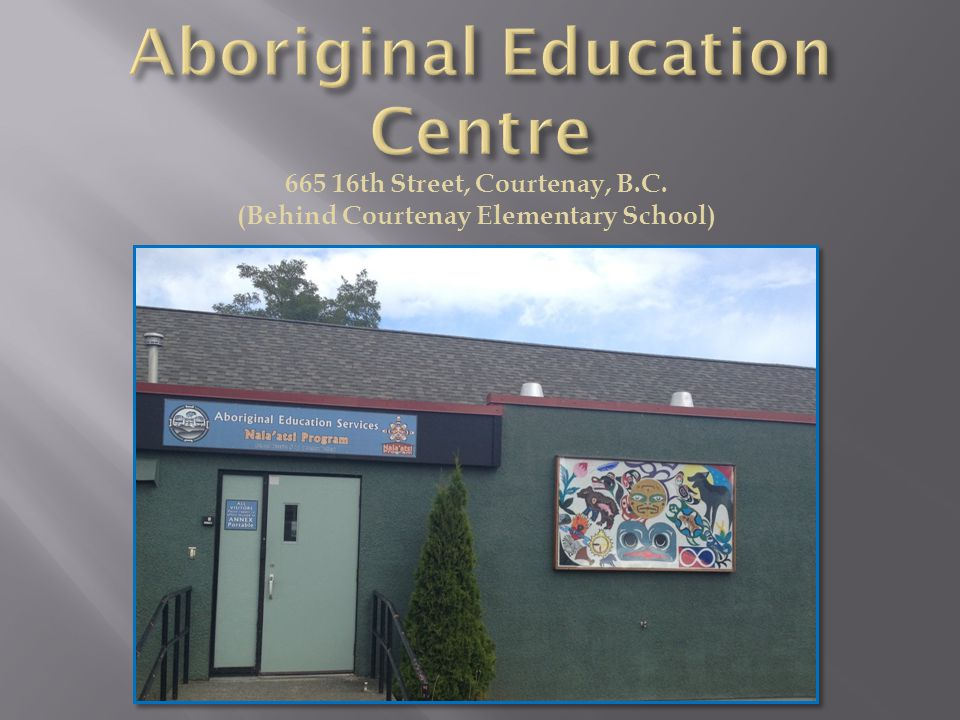 665 16th Street, Courtenay, B.C. (Behind Courtenay Elementary School)