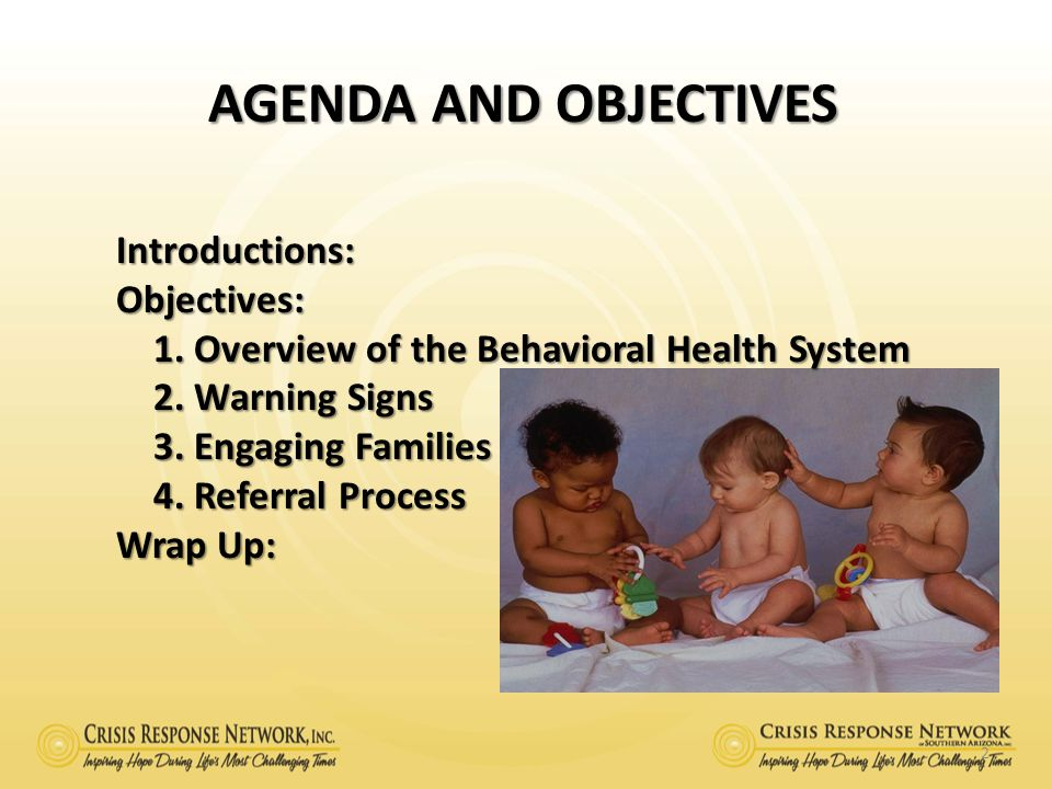 BEHAVIORAL HEALTH OVERVIEW 3 In August 1986, Arizona Revised Statute, 36-3402, created the Division of Behavioral Health Services, DBHS, within ADHS.
