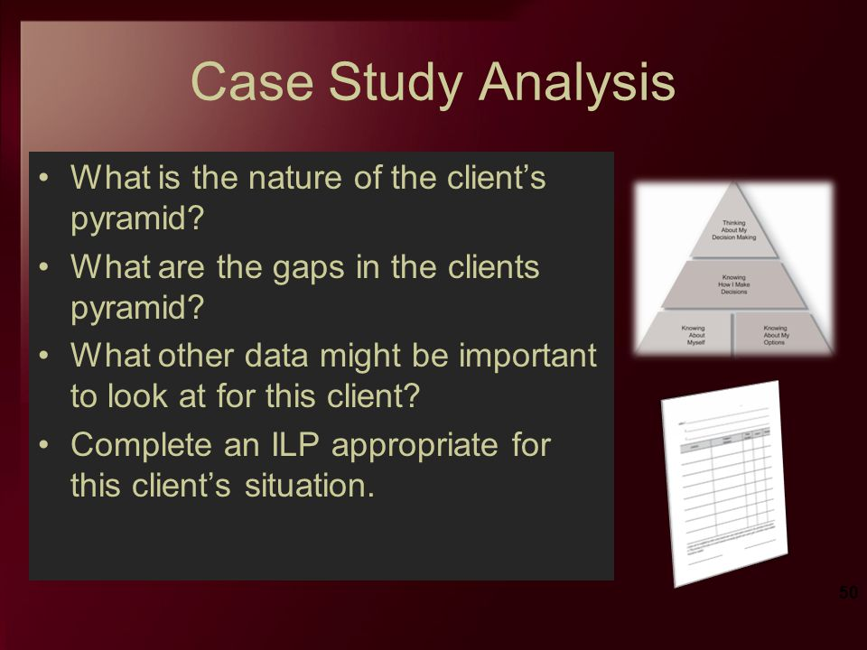 Case Study Analysis What is the nature of the clients pyramid? What are the gaps in the clients pyramid? What other data might be important to look at