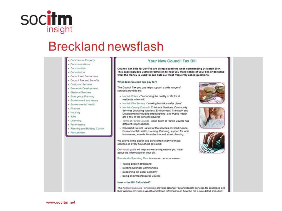 www.socitm.net Breckland newsflash