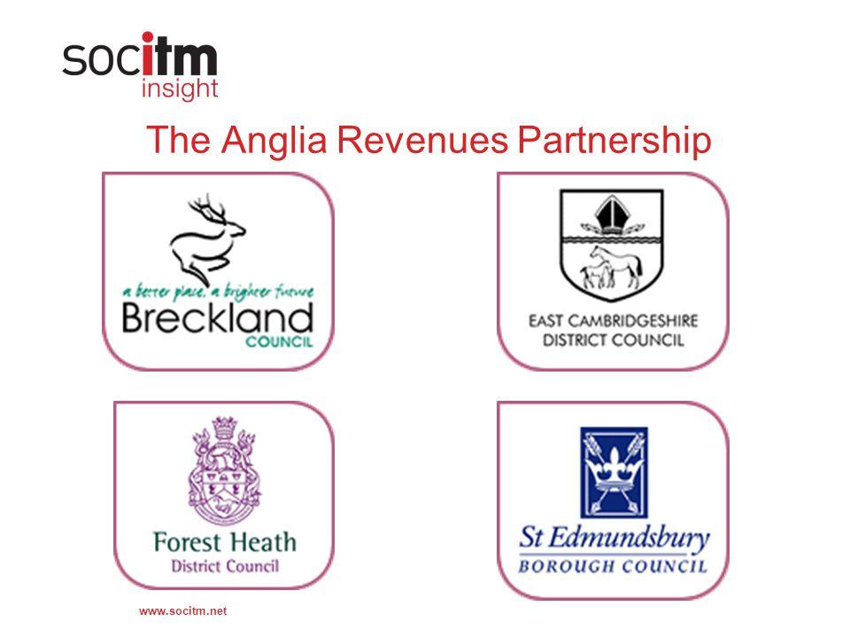 www.socitm.net The Anglia Revenues Partnership