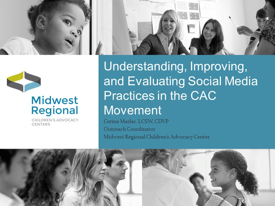 Overview Develop a better understanding of National Social Media practices across non-profit organizations Develop a better understanding of National Social Media practices provided by CACs.