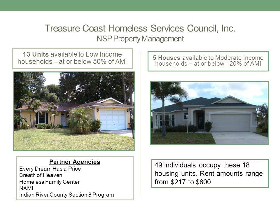 Treasure Coast Homeless Services Council, Inc.