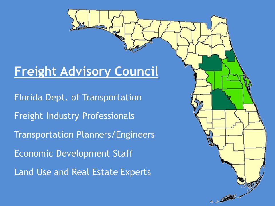 Freight Advisory Council Florida Dept.