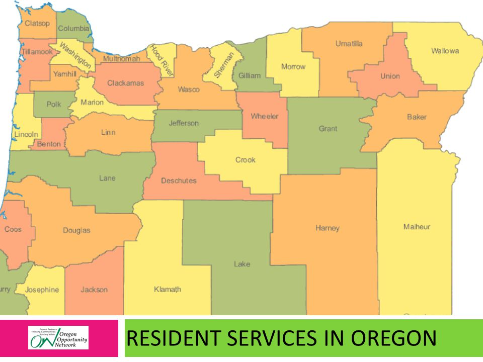 RESIDENT SERVICES IN OREGON